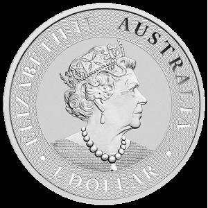 Australijski Kangur 2021 1oz - rewers
