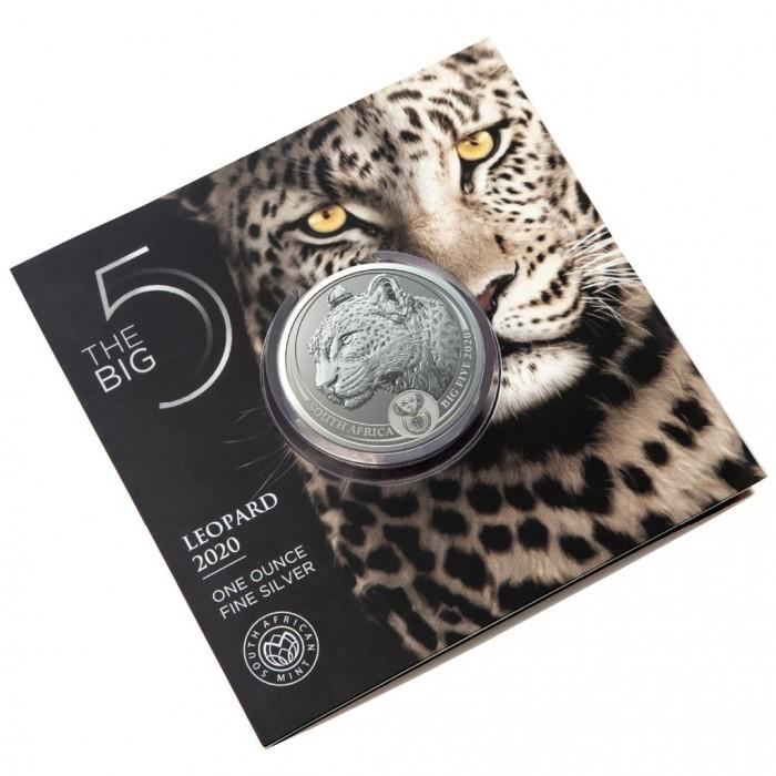 Big Five Leopard 2020 1oz - blister