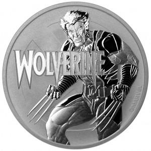 Marvel Series Wolverine 2021 1oz - rewers