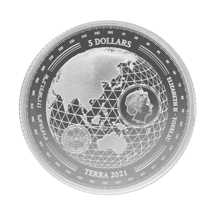 Tokelau Terra 2021 1oz - awers