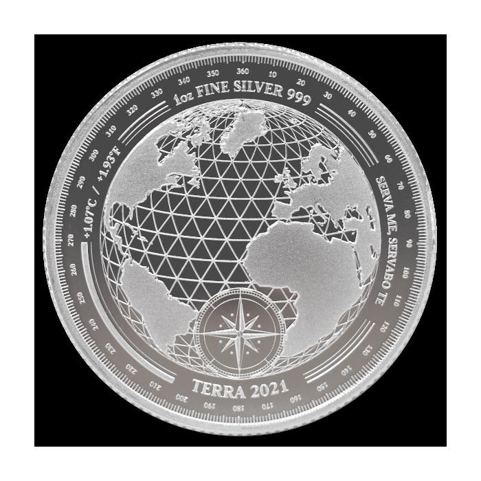 Tokelau Terra 2021 1oz - rewers