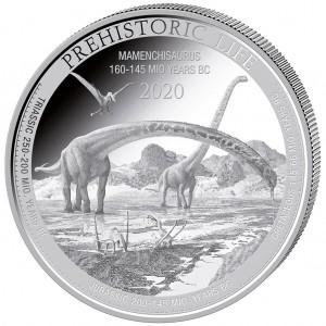 Congo Mamenchisaurus 1oz - Rewers