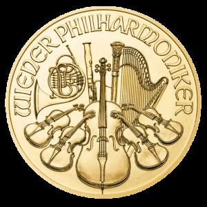 Wiedeńscy Filharmonicy 2021 1oz - rewers
