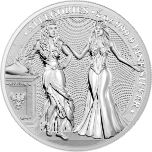 Italia & Germania 2oz - awers