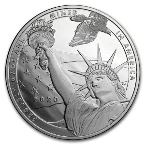 True Patriot 1oz - rewers