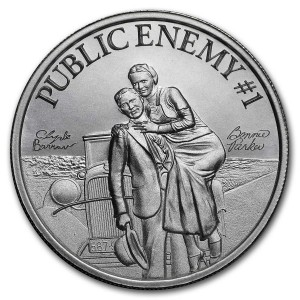 Public Enemy #1 - Bonnie & Clyde 2oz - rewers