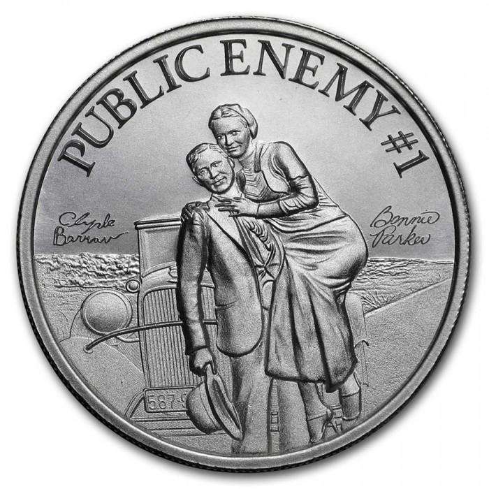 Public Enemy #1 - Bonnie & Clyde 2oz - rewers