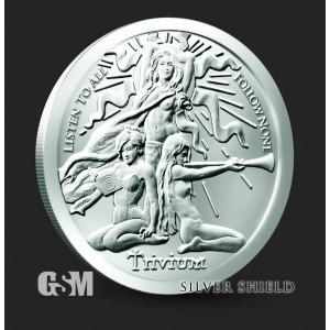Silver Shield - Trivium Girls 2021, 1oz - rewers