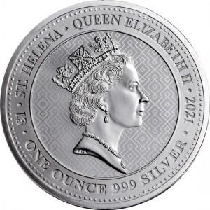 Queen's Virtues: Zwycięstwo 2021, 1oz - rewers