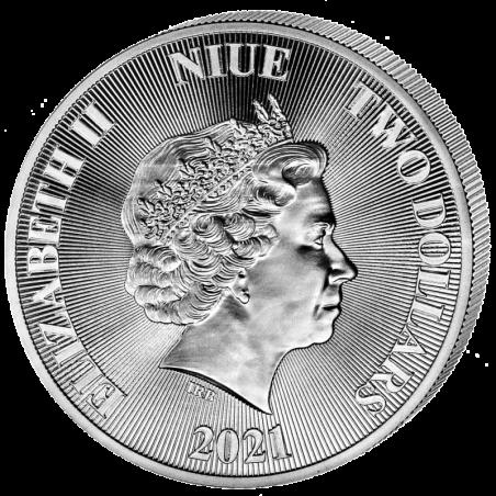 Niue Drzewo Życia 2021, 1oz - awers