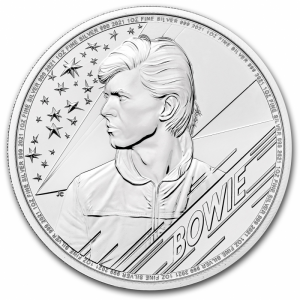 Music Legends: David Bowie - 1oz, 2021 rewers