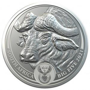 Big Five Buffalo 2021 1oz - miniaturka
