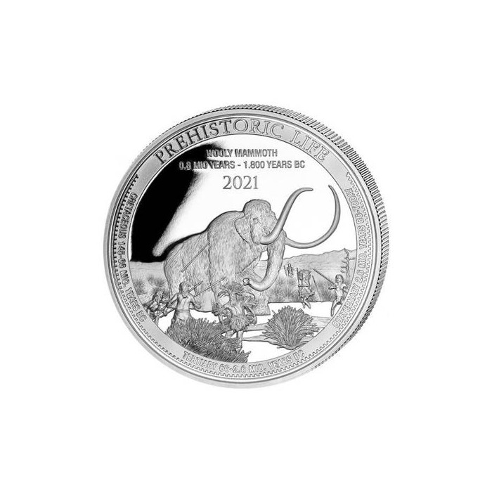 Congo Wooly Mammoth 1oz - Rewers