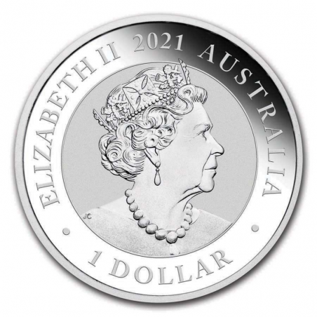 Australian Swan 2021 - awers