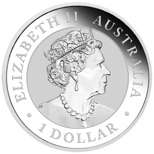 Australian Nugget 2021 1oz - rewers