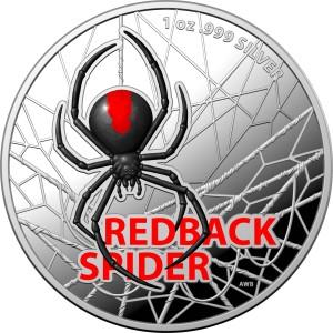 Redback Spider 2021 1oz, proof - box