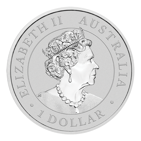 Australian Emu 2021 - 1oz, awers
