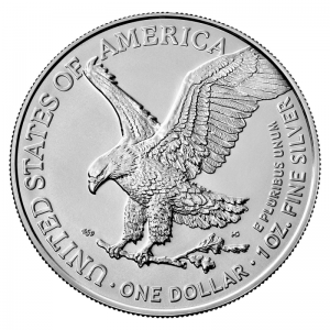 American Eagle 2021 (type 2) - awers