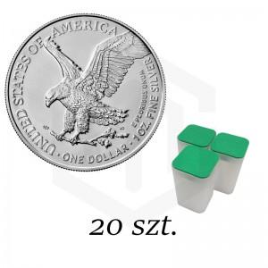 Amerykański Orzeł - pakiet 20 szt.