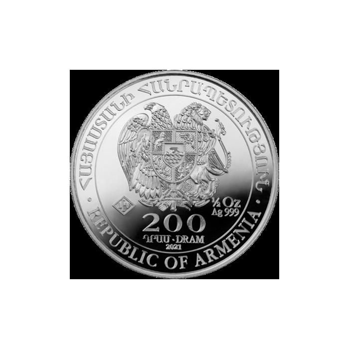 Arka Noego 2021 - awers 1/2oz