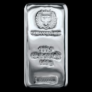 Sztabka Germania 500g - front