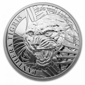 Panthera Tigris 2021 1oz - rewers