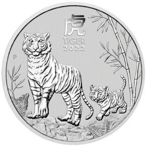 Lunar Year of the Tiger 2022, 1oz - rewers