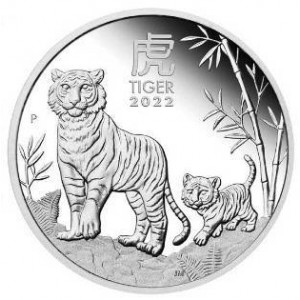 PROOF_Lunar III: Year of the Tiger 2022, 1oz - rewers