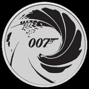 Srebrna Moneta James Bond...