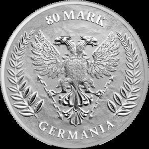 Germania 2021, 1KG - rewers