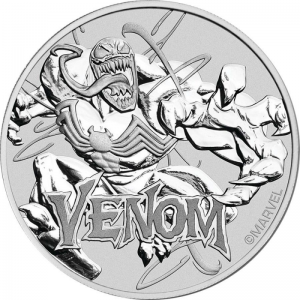 Marvel Series Venom 2020 1oz - rewers