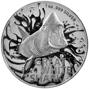 Great White Shark 1oz - rewers