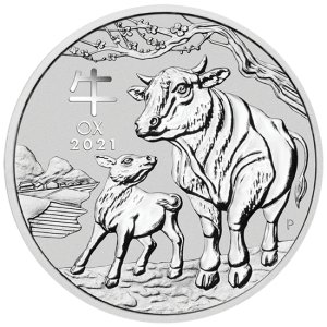 Lunar Year of the Ox 2021, 1/2oz - rewers