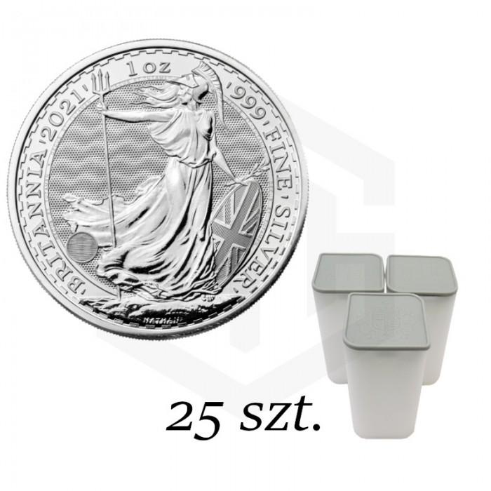 Britannia 2021, 1oz - pakiet 25 szt.