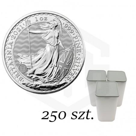 Britannia 2021, 1oz - Pakiet 250 szt.