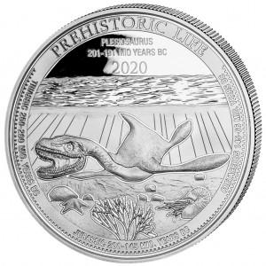 Congo Plesiosaur 1oz - Rewers