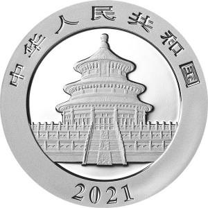 Chińska Panda 2021, 30g - rewers