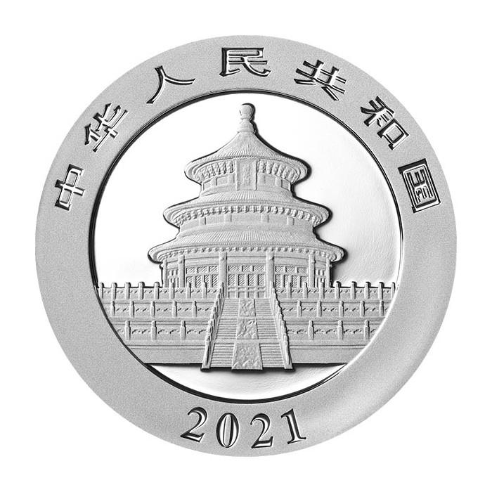 Chińska Panda 2021, 30g - awers