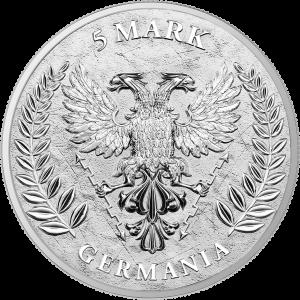 Germania 2020 1oz - rewers
